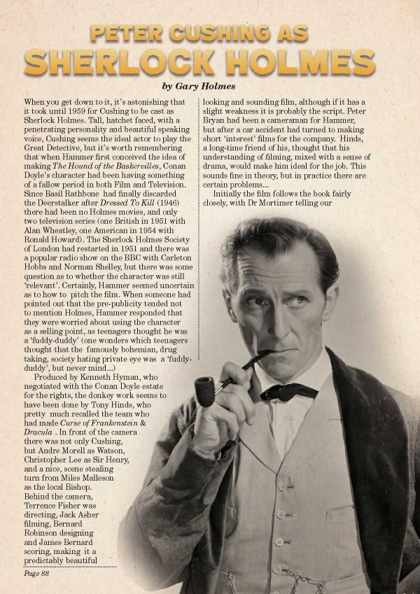 Peter Cushing Book