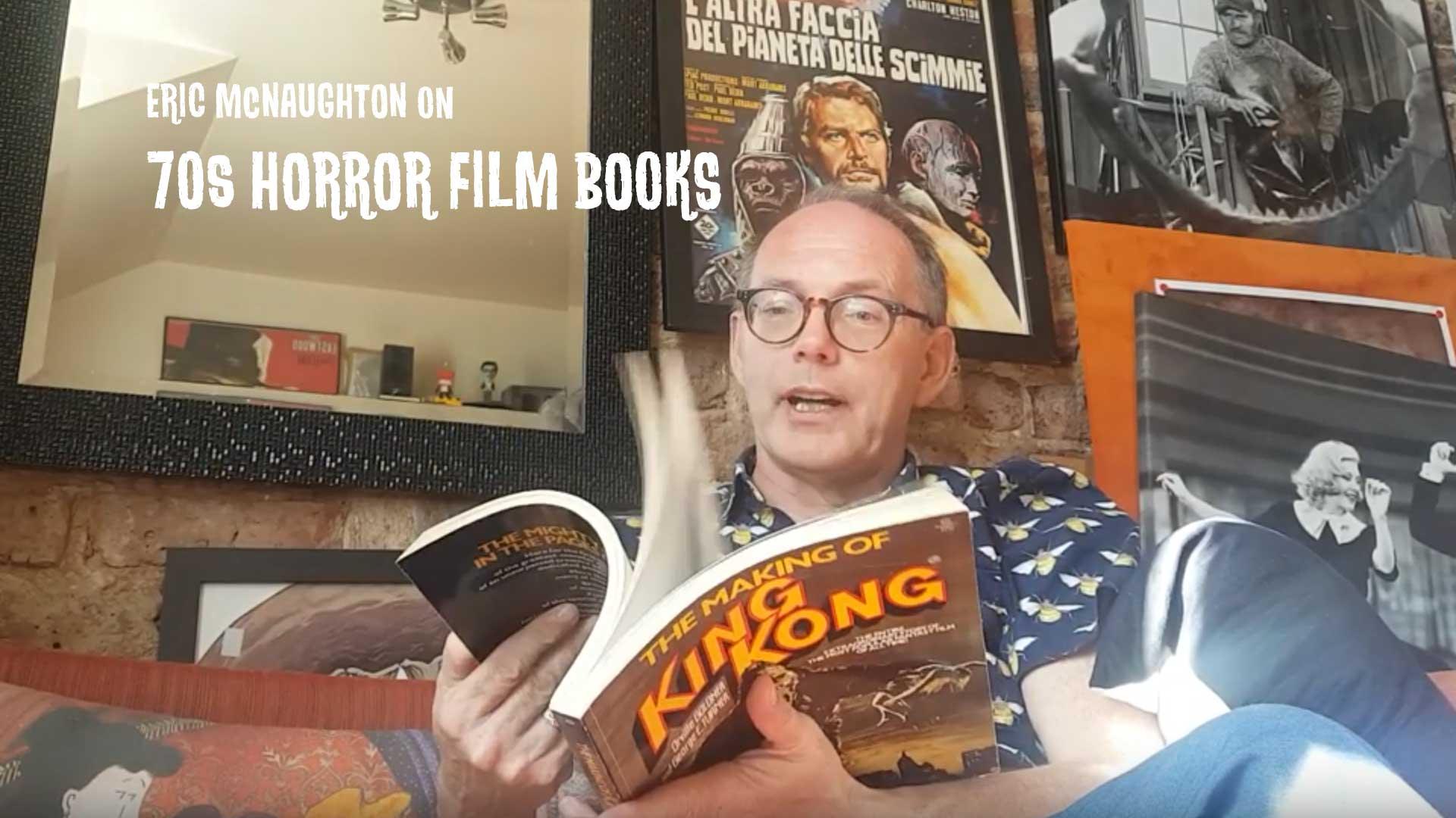 YouTube 70s Horror Film Books