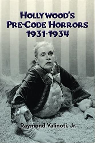 Hollywood pre Cert Horror Book