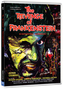 Revcenge of Frankenstein Packshot