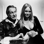 Linda Hayden and Vincent Price