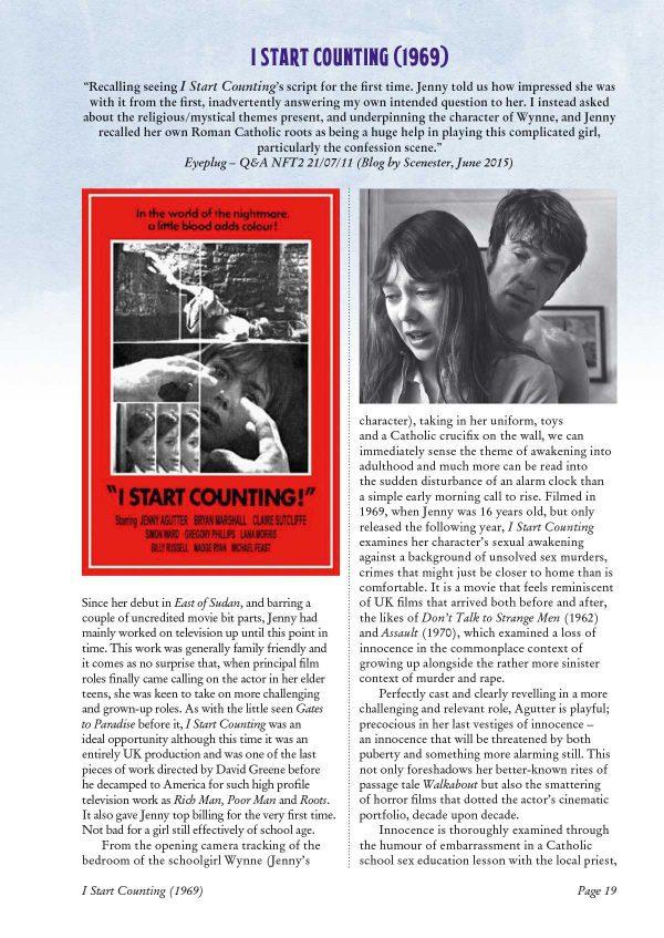 Films of Jenny Agutter