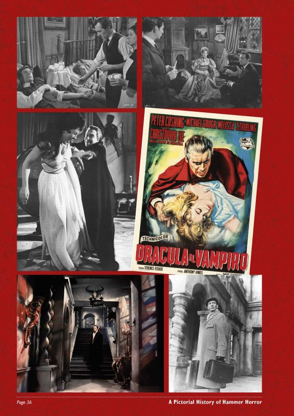 A Pictorial History of Hammer Horror